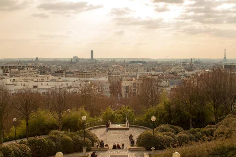 punti panoramici di parigi