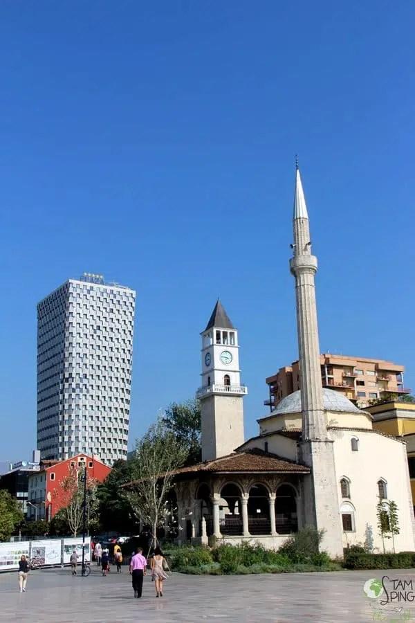 Piazza Skanderberg - Tirana