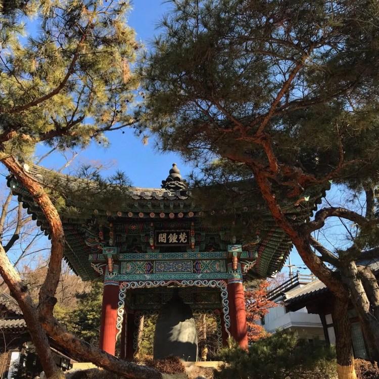 tempio corea del sud