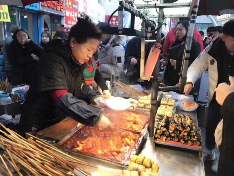cibo in corea del sud