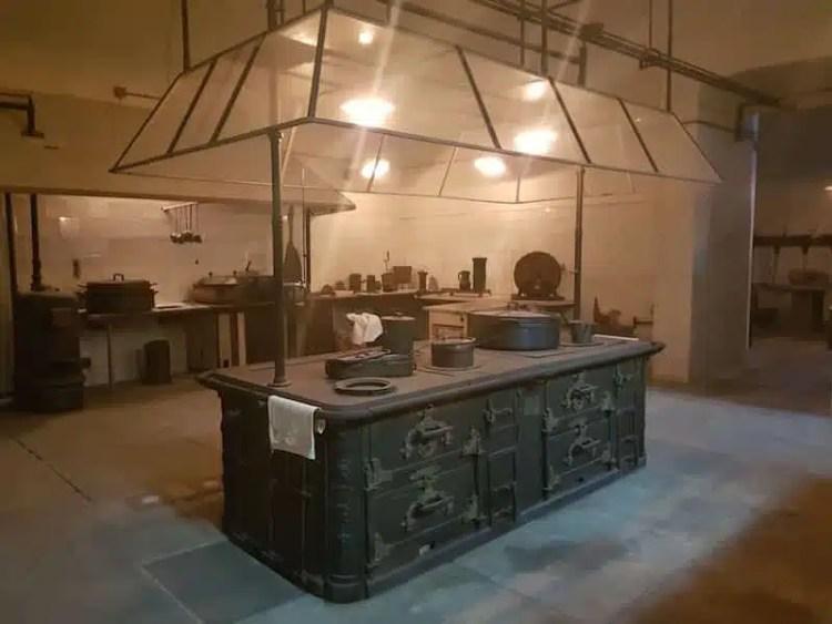 Visitare Torino - Cucine Reali