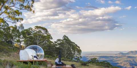 Bubble Tent del Coonawarra Bush