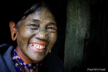 donna in Myanmar