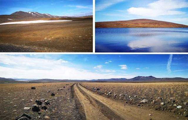 Saenautavatn, il lago è blu