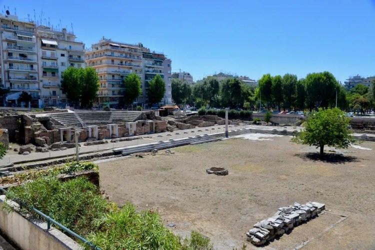 agorà romana salonicco