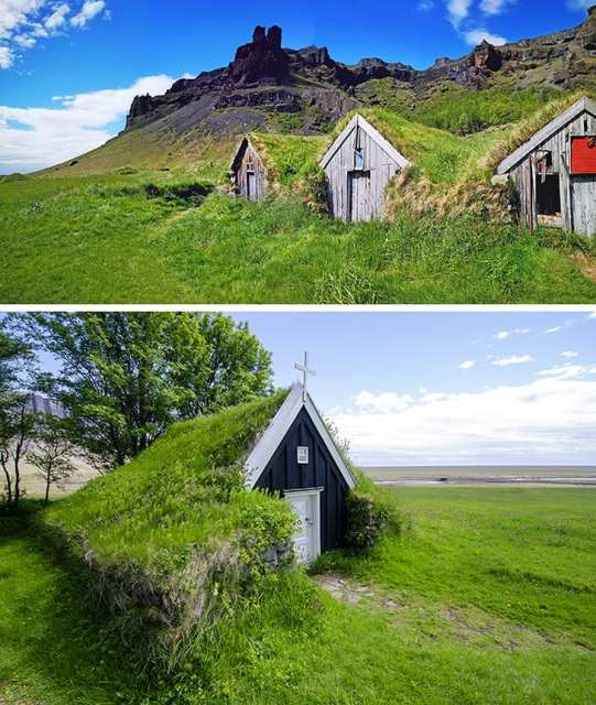 case tetto in erba