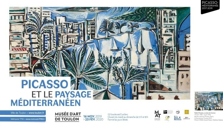 Picasso e il paesaggio mediterraneo