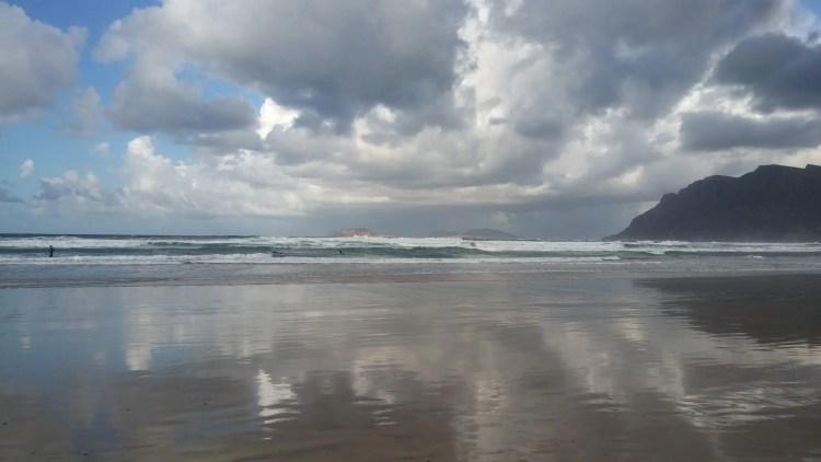 la spiaggia di Famara