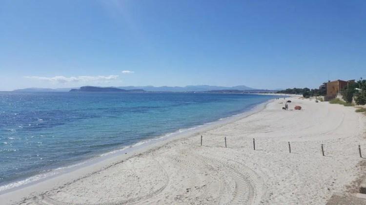 La spiaggia del Margine Rosso