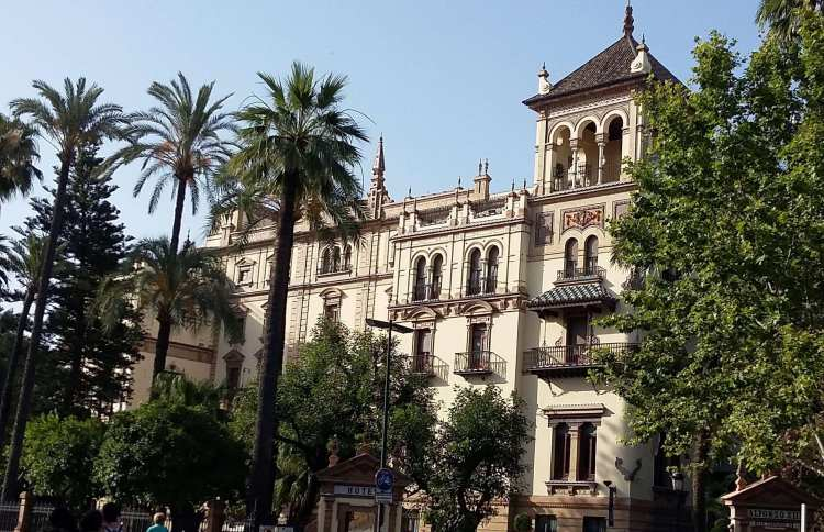 Hotel Alfonso XIII a Siviglia