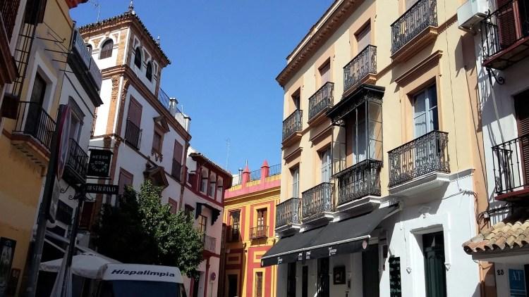 Nel centro di Siviglia