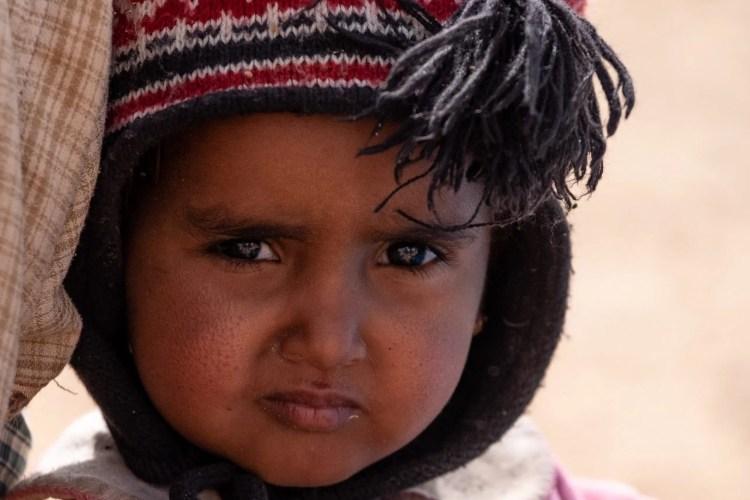 bambina in mauritania