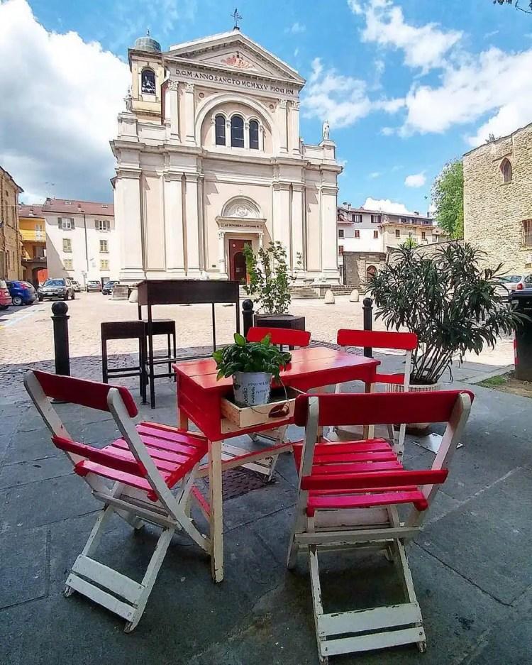 Borgo Val di Taro la piazza
