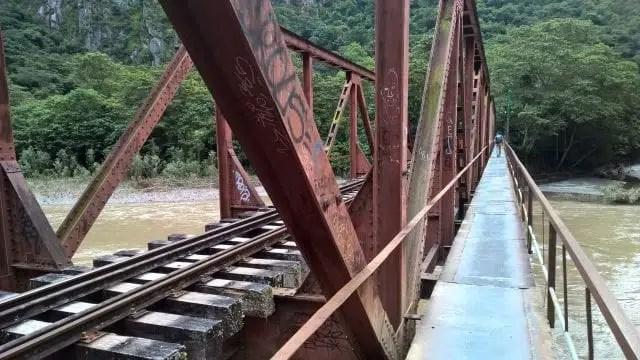 treno per Aguas Calientes