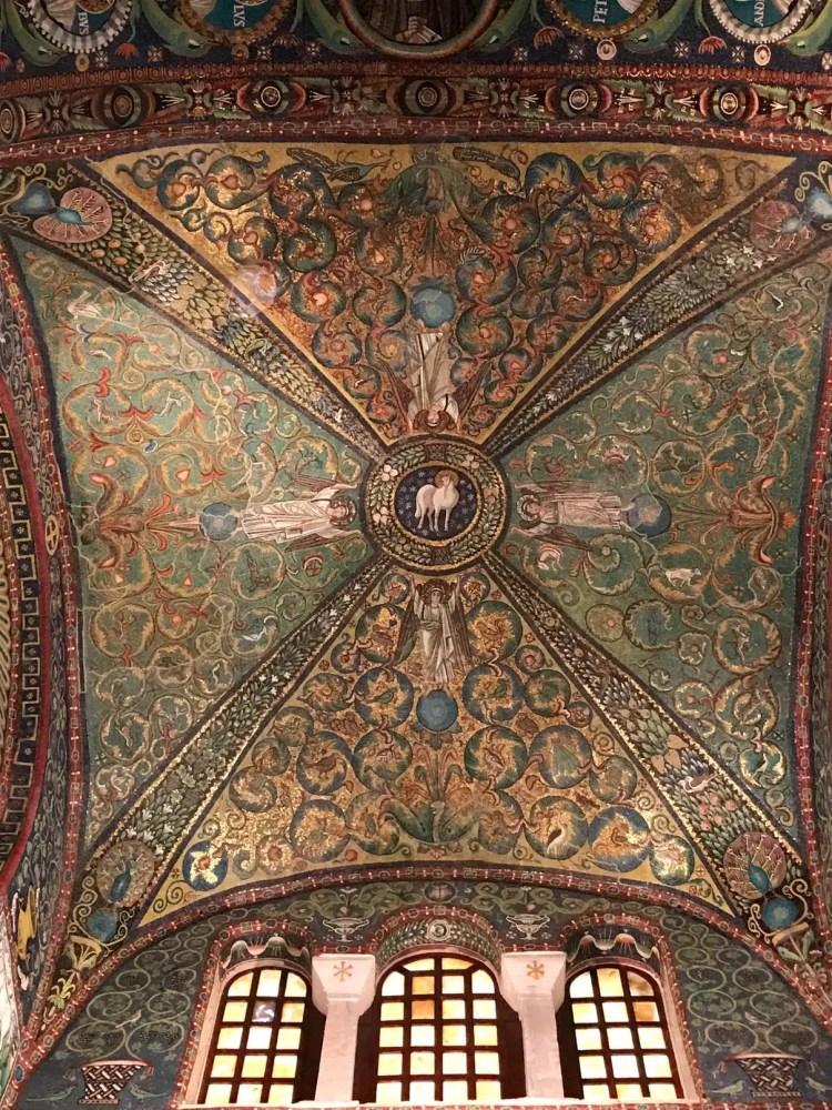 la cupola della Basilica di San Vitale a Ravenna