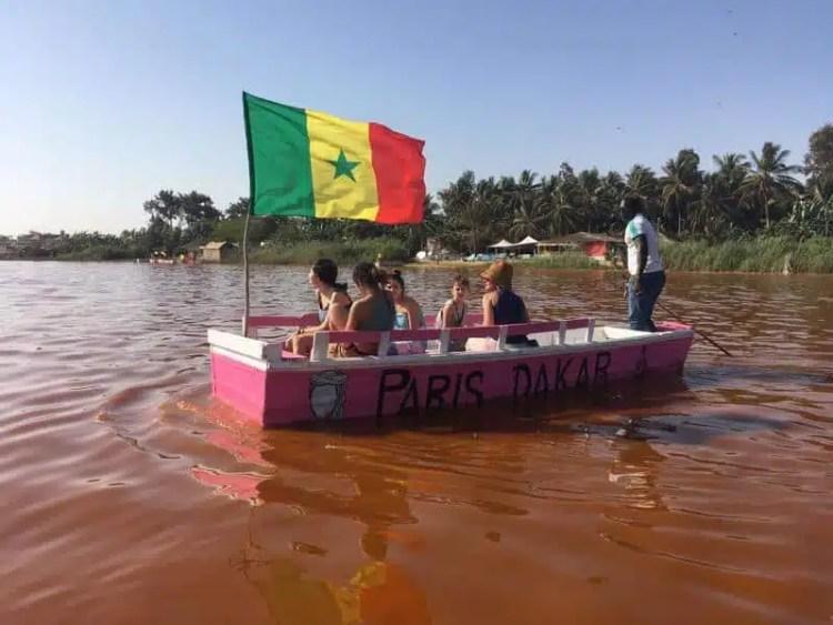 Lac Rouge, Senegal