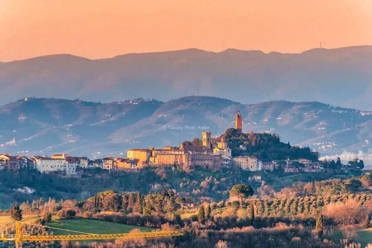 Panorama su San Miniato
