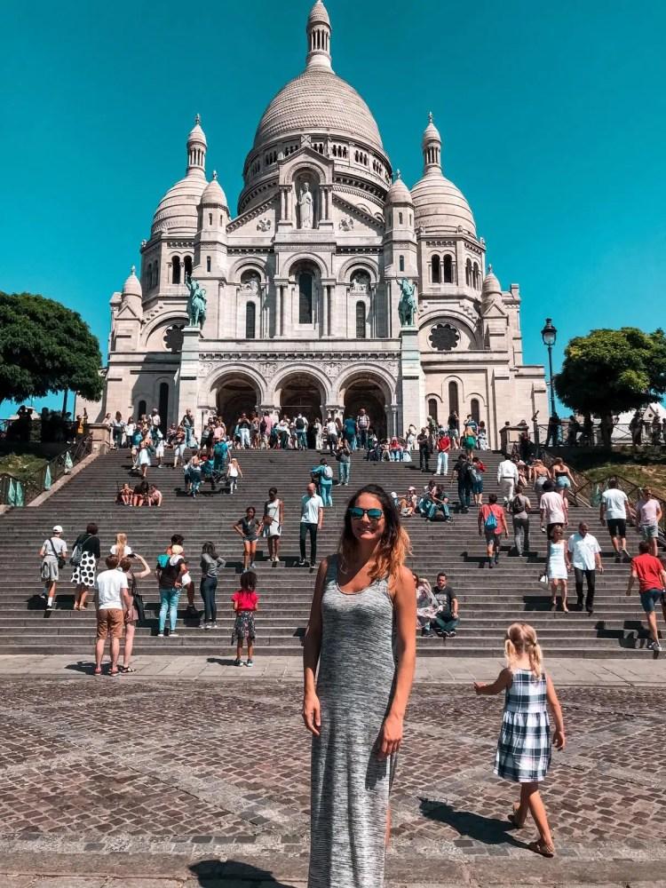 Basilica del Sacré-Cœur (Sacro Cuore) a parigi