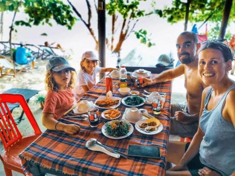 mangiare alle isole Cham Islands Vietnam
