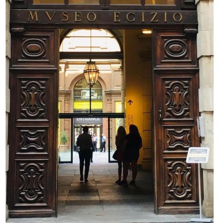 Museo Egizio di Torino entrata