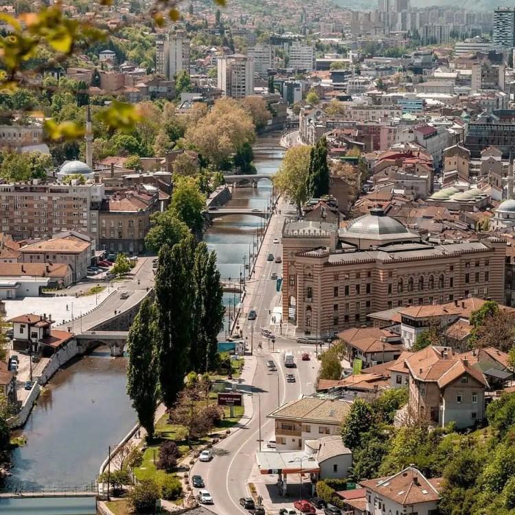 Sarajevo in bosnia
