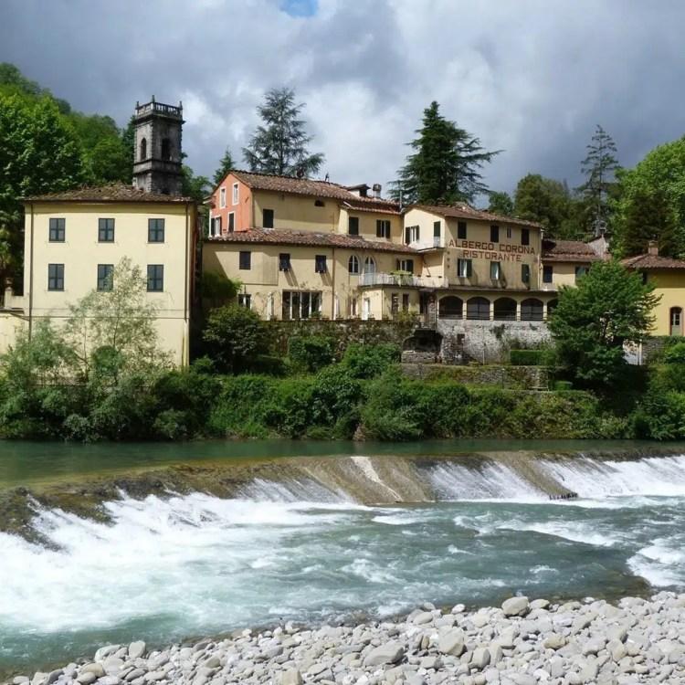 bagni di lucca sul fiume