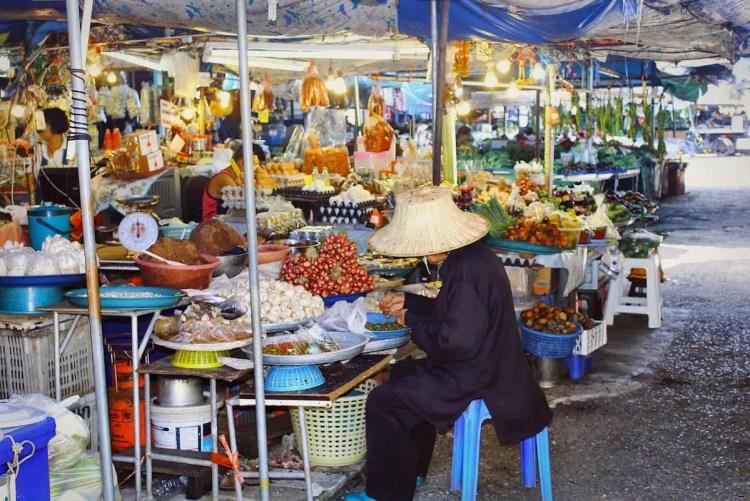 mercato in Thailandia