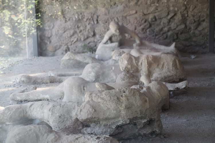 Il giardino dei fuggiaschi a pompei
