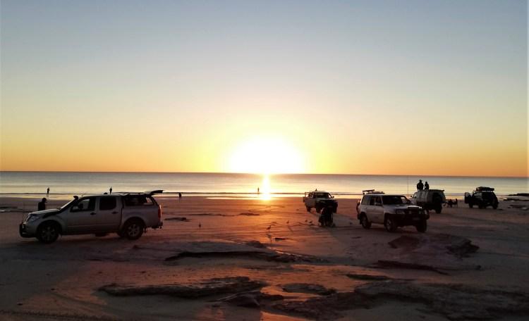 Broome al tramonto