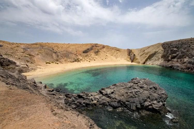 10 cose da fare alle Canarie Playa del Papagayo, Lanzarote