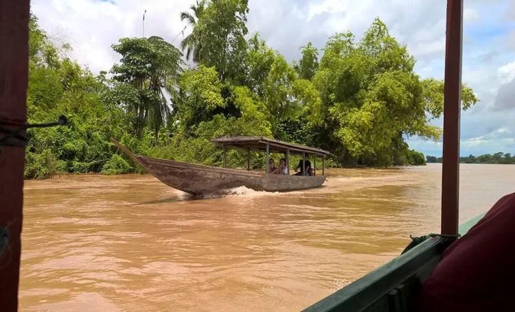 cascate del Mekong.