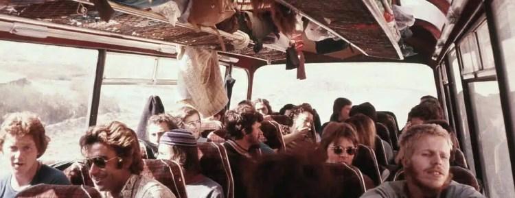 Hippie Trail i bus