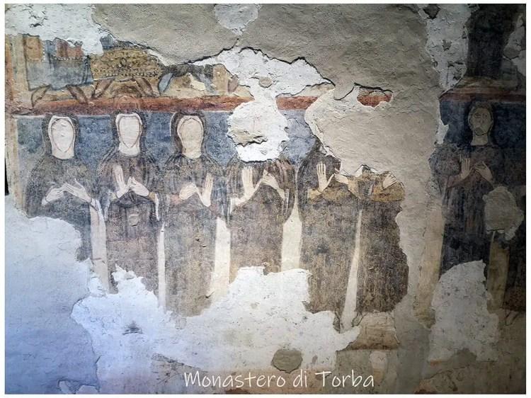 monastero di Torba dipinti