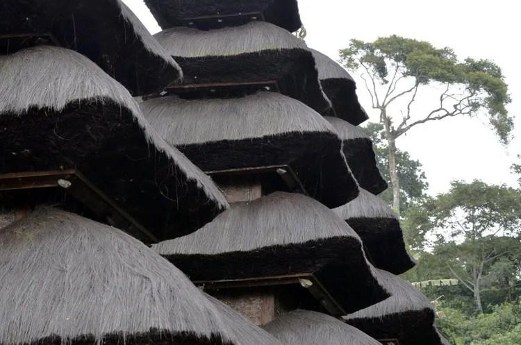 Pura Luhur Batukau tetto