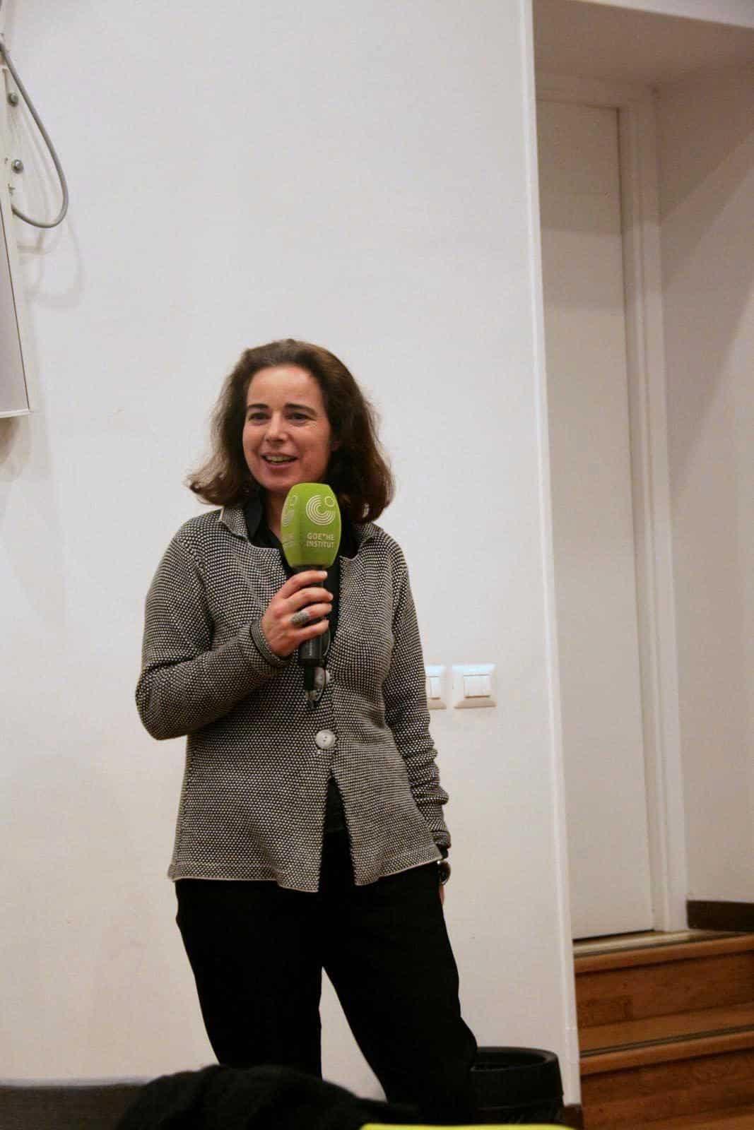 Antonella Perin, Leiterin der Kulturprogramme