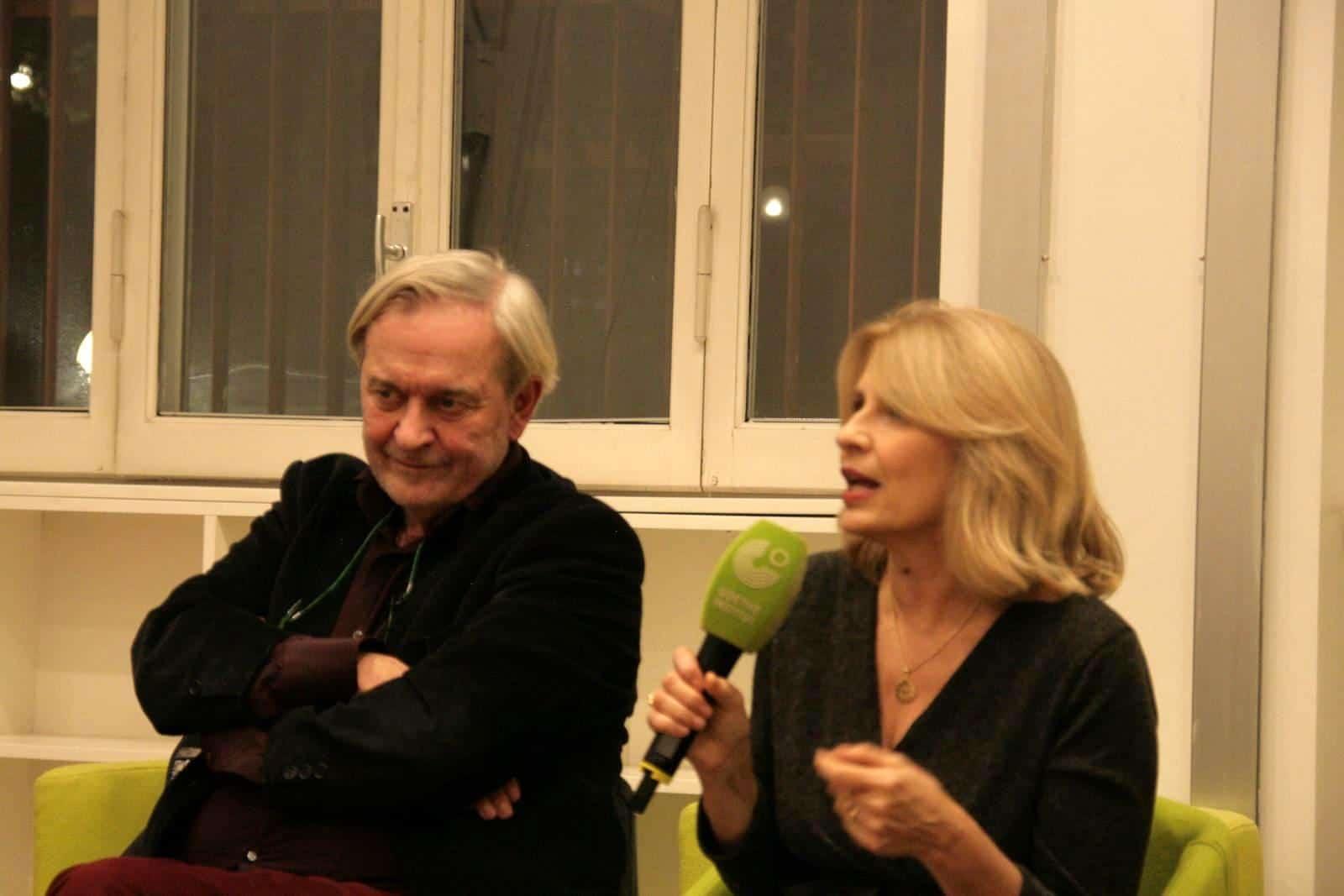Michael Braun und Anna Pavignano