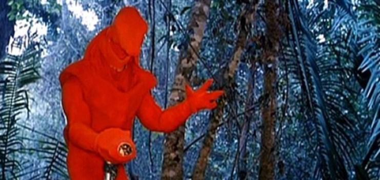 Jean-Claude Van Damme col costume originale di Predator 2