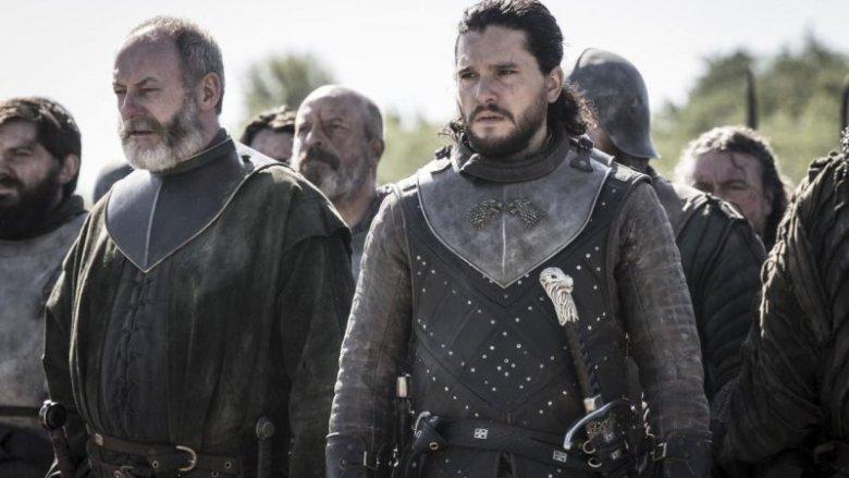 Game of Thrones 8x06 jon snow ser davos