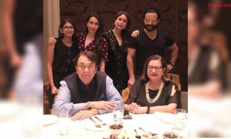 Randhir Kapoor Birthday: Kareena Kapoor went to Randhir Kapoor's birthday dinner.