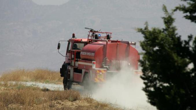 Μάχη με τις φλόγες παρά την κτηνοτροφική περιοχή Άλασσας-Λάνιας