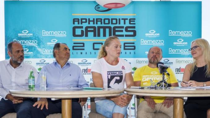 cross-fit 'Aphrodite Games 2016'