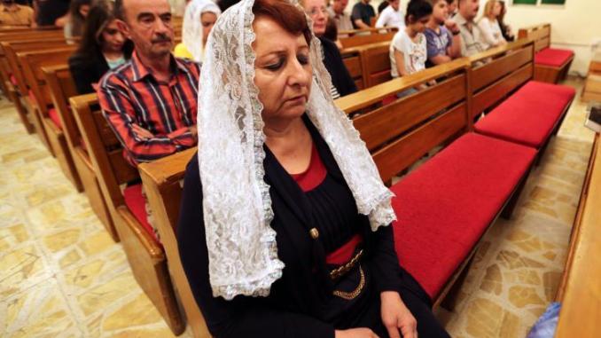 Οι Χριστιανοί του Ιράκ προσεύχονται και πάλι