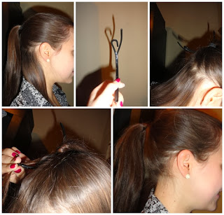 #HOTD: invisible hair-tie: tutorial