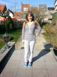 Clothes & Dreams: OOTD: The return of the sun + my haircut: full outfit