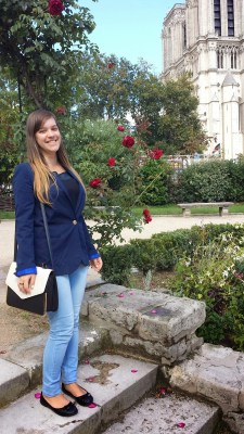 Clothes & Dreams: OOTD: Three days in Paris: Day 1 full outfit with blazer