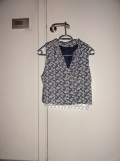 Clothes & Dreams: Shoplog: Antwerp!: Floral top with lace bottom from Forever21
