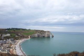 Clothes & Dreams: Why we loved visiting Normandy: The cliffs of Étretat