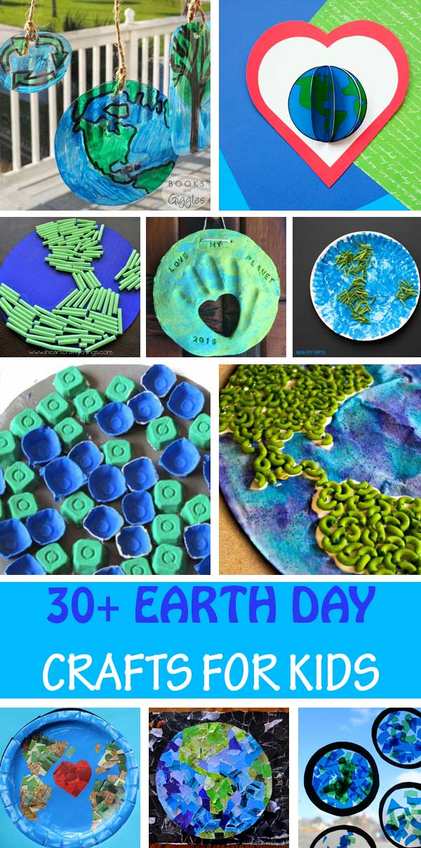Oceanic crust is the crust that lies under the ocean, and continental crust is the crust. 30 Beautiful Earth Day Crafts For Kids Non Toy Gifts