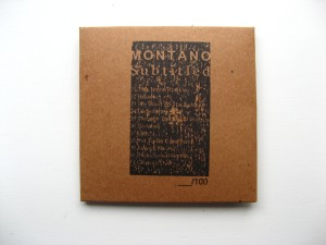 Montano CDR front
