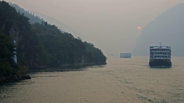 Quoi visiter en Chine - rivière Yangzi